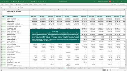 accounting - trade based template